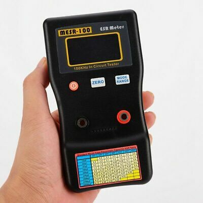 Mesr100 V2 Auto Ranging In Circuit Esr Capacitor Meter H Tester 0.001 To 100r