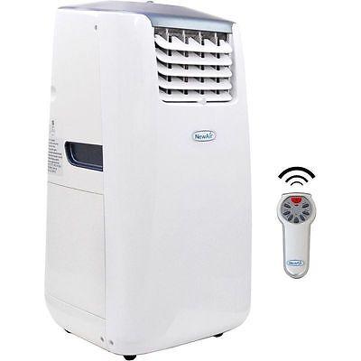 Portable 14000 BTU Air Conditioner & Heat Pump, Large 525 SqFt AC Ionizer Remote