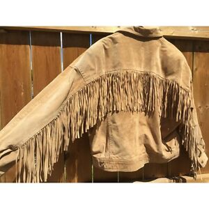 Leather Attic Fringe Jacket