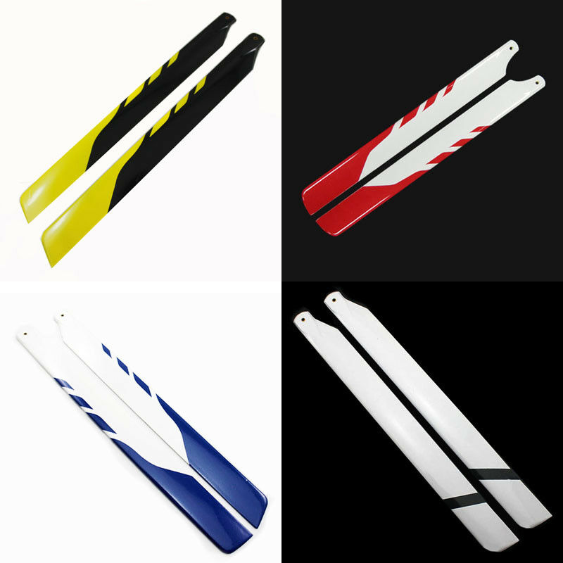5Pairs 325MM Glass Fiber Main Rotor Blades for Trex 450 PRO DFC V3 Helicopter