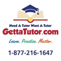 Need A Tutor?  Want A Tutor?  GettaTutor.com - $35 per hour