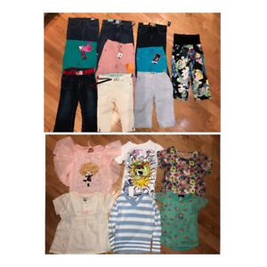 Brand new, with tags, size 5 girl clothing lot. Many brand names