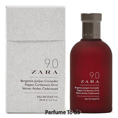 ZARA MAN 9.0 * 3.4 oz (100ml) EDT Spray * NEW & SEALED