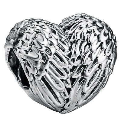 5pcs Silver European Charm Beads Fit 925 Necklace Bracelet Chain jewelry HOT