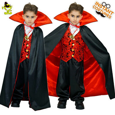 Cool Vampire Costumes Kids Deluxe Prince&King Suit with Cloak for Various Party - Prince Costumes For Kids