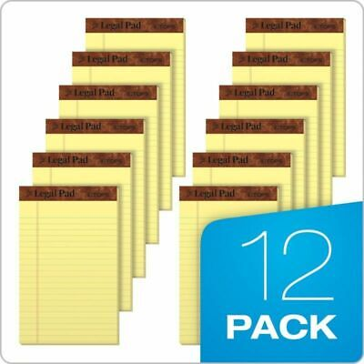 Tops The Legal Pad Writing Pads 5 X 8 Jr. Legal Rule 50 Sheets12 Pack