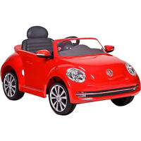 Brand New VW Aria Child VW Beetle Ride-On Vehicle -Red