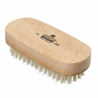 Beechwood nail brush NB4, pure white bristle Best Price On Ebay !