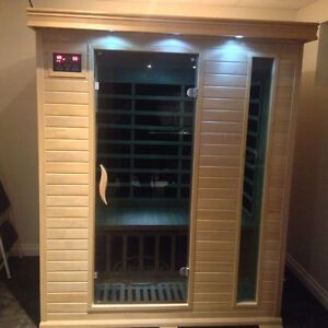Classic three person sauna far infrared on sale $2799, was $3999 Strathcona County Edmonton Area image 4