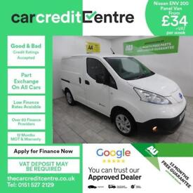 White Nissan eNV200 E Acenta Rapid Auto ***FROM £149 PER MONTH***