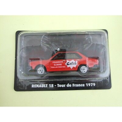 RENAULT 18 CATCH Tour De France 1979 NOREV pour ATLAS 1:43