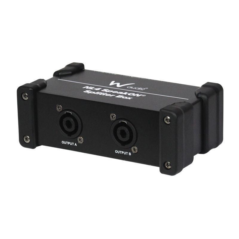 Neutrik NL4 Speakon Splitter 2 to 1 Speaker Cable PA Sound System