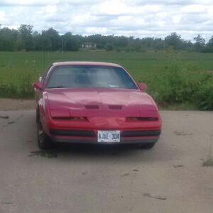 1986 Pontiac Firebird Other Cambridge Kitchener Area image 1