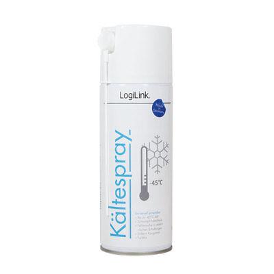 LogiLink Kältespray zur Fehlersuche in elektronischen Bauteilen 400ml farblos