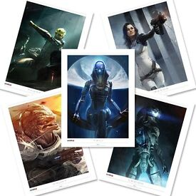 Mass Effect Lithograph Pack