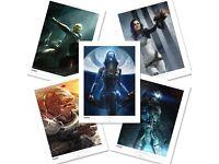 Mass Effect Lithograph Pack
