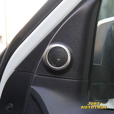 Steel Interior Door Speaker cover trim for 2014-2017 Toyota Tundra Accessories (Bull Grill Accessories)