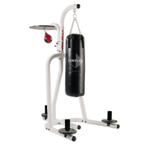 Century punching bag and speed bag w/stand