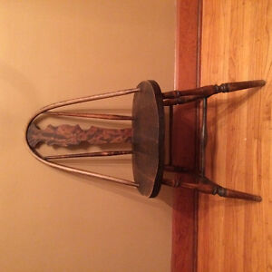 Antique bentwood dining chairs