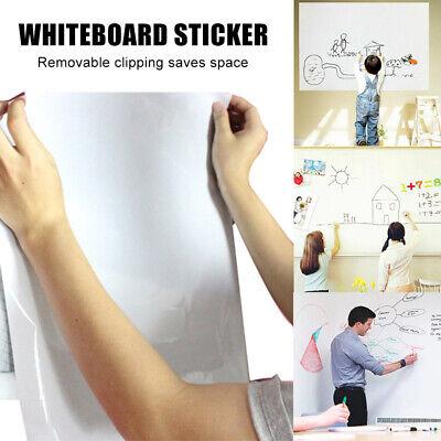 Large Whiteboard Sticker + 3 Dry Erase Board Markers - White Board Wall Large Dry Erase Markers