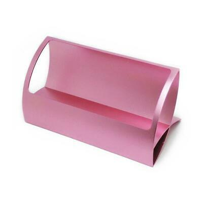 Retro Business Card Holder Case Metal Simple Office Home Desk Storage Box Gift