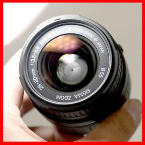 For Nikon full frame cameras, Sigma 28-80mm lens