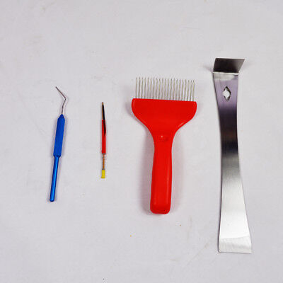 New Honey Knife Shift Insect Needle Uncapping Fork Beekeeping Tool 170473