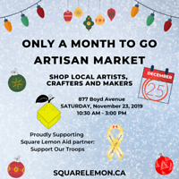 Only A Month To Go Artisan Market - November 23
