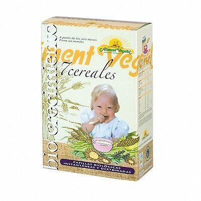 NAHRUNGSMITTEL Gemüse Brei der biologische 7 Getreide mit Honig 400gr 004541