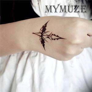 Guilty Crown Shu Ouma Cosplay Tattoo Sticker Inori Yuzuriha Tatoo