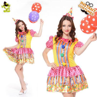 Women Clown Costume Women Fancy Clown Dress Funny Christmas Cosplay - Funny Christmas Costume