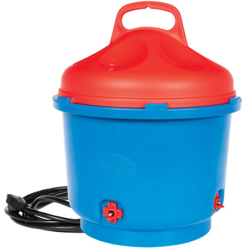HEATED POULTRY CHICKEN FOUNT Nipple Waterer  3 Gallon Insulated - High Quality.