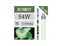 ARCADIA D3+ 54w UV T5 REPTILE FOREST TUBE 6% UVB 30% UVA - 1150mm - FD354T5