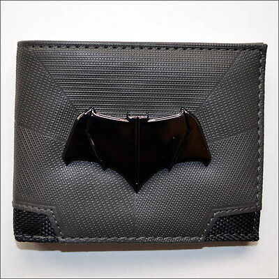 Batman v Superman Dawn of Justice Suit Up Costume Bi-Fold Bifold Wallet LICENSED - Batman V Superman Suit
