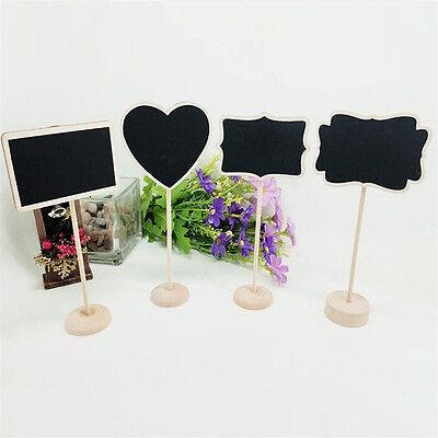 1x Mini Clip On Blackboard/Chalkboard For Wedding/Party Lolly Buffets Table
