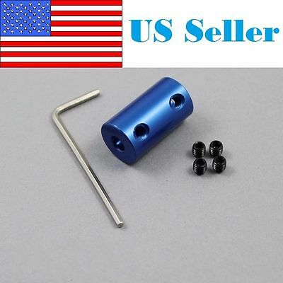 5mm X 8mm Rigid Shaft Coupler Stepper Motor Cnc Coupling Reprap Prusa Mendel 3d