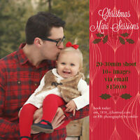 Photography by Emilee Outdoor Christmas Sessions