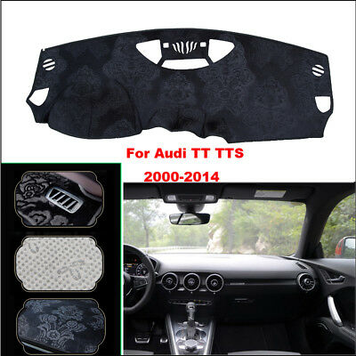 For Audi TT/TTS Car Dashboard Pad Cover Dash Mat Anti-Sun Velvet Instrument Pad