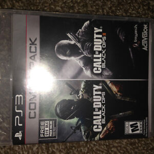 Call of duty black ops 1 and black ops 2 combo pack London Ontario image 1