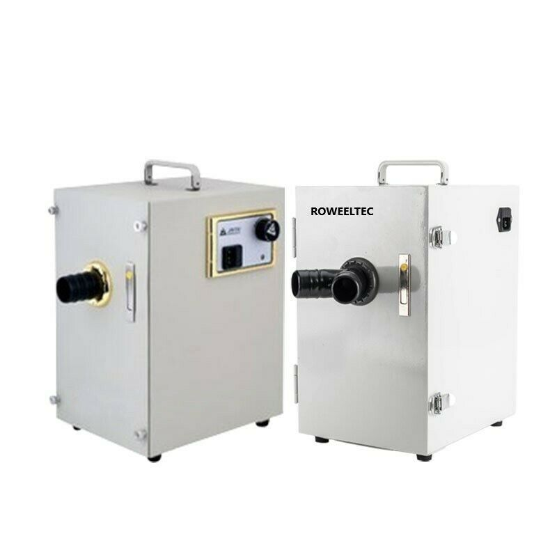 370W Digital Single-Row Dust Collector Vacuum Cleaner JT-26 Dental Lab Equipment