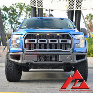 Paramount 2015-2016 Ford F-150 F150 Front Bumper 2017 Ford Rapto