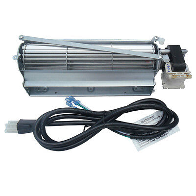 Gas Stove Blower - Universal Wood / Gas Burning Stove or Fireplace Blower Kit (Motor at right)