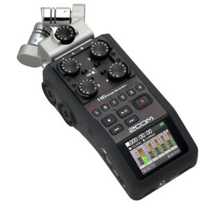 Zoom H-6 Professional Handy Recorder - Like New