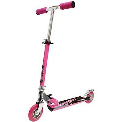 Kinder Roller Scooter Rosa Pink Cityroller klappbar faltbar robust bis 50kg Neu