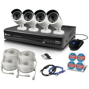 Swann NVR8-7300 8 Ch 3MP CCTV SECURITY CAMERA SYSTEM INSTALLED Melbourne CBD Melbourne City Preview