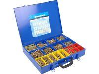 GoldStar 3,400 Countersink Screws Metal Case