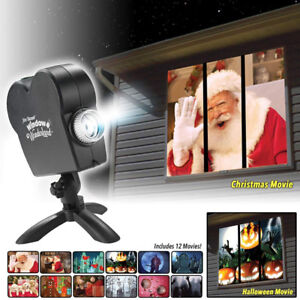 Supertek Window LED Projector + 12 Movies - NEW - 80% off!!!