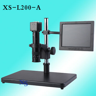 Electron Digital Microscope Led Industrial Hd Camera Magnifier Inspection Video