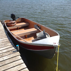 Sears 14 foot boat with 6hsp Tomatsu motor