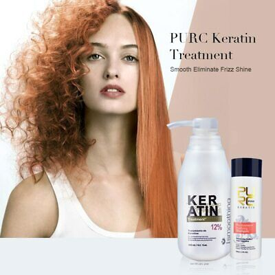 Pure Brazilian Keratin Blowout Hair Straightening Treatment Protein Blow Dry Kit